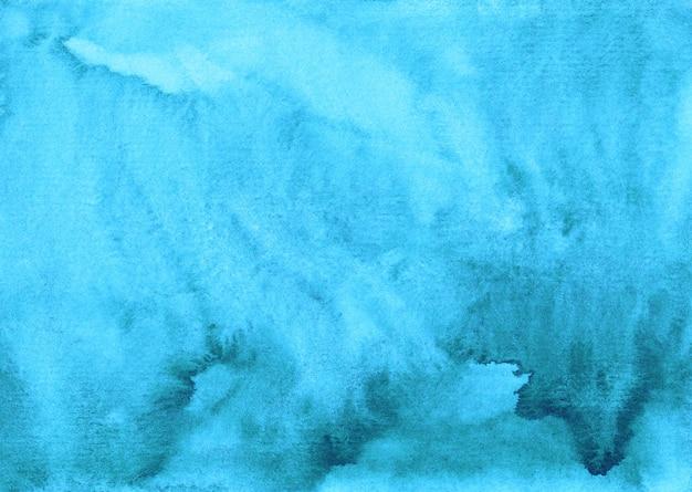 Akwarela jasnoniebieskie tło tekstura ręcznie malowane