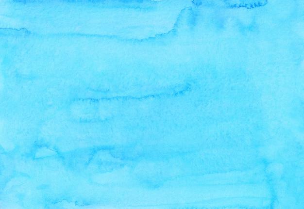 Akwarela jasnoniebiesko-niebieskie tło