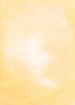 Akwarela jasnożółtym tle