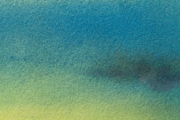 Akwarela na płótnie z delikatnym turkusowym gradientem