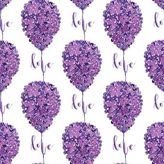 Akwarela piękny wzór. może być stosowany do pakowania, projektowania tekstyliów, tapet i opakowań