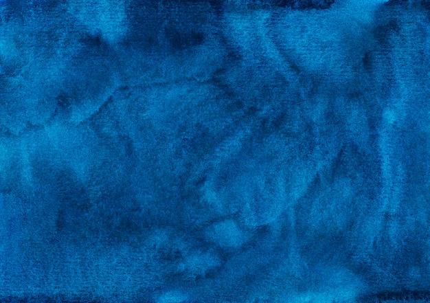 Akwarela płynne niebieskie tło tekstura
