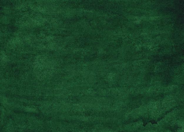 Akwarela rocznika ciemnozielony tło obraz