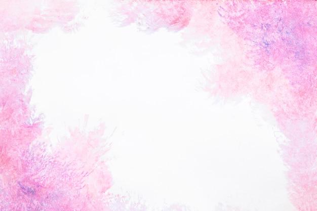 Akwarela rozproszone różowe tło