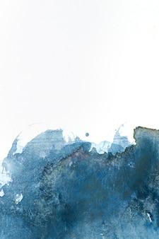 Akwarela splash na fakturze papieru