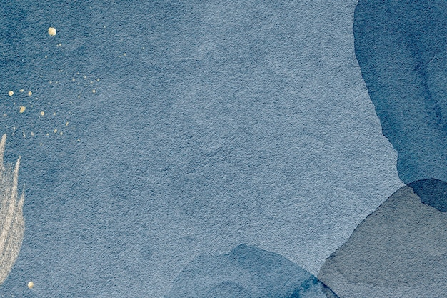 Akwarela teksturowane niebieskie tło