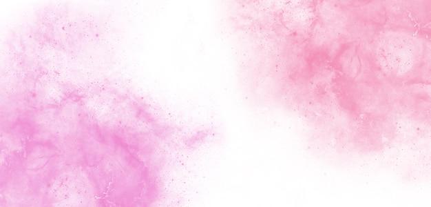 Akwarela tekstury tła miękkie różowe abstrakcyjne światło poranka