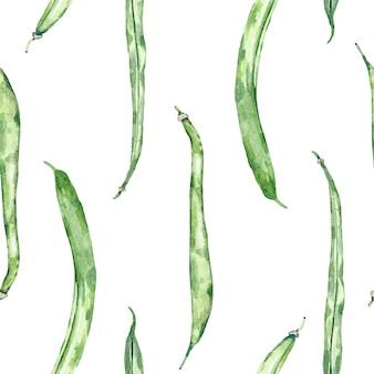 Akwarela tło organicznych warzyw