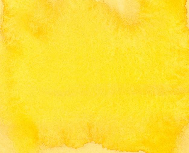 Akwarela tło żółte
