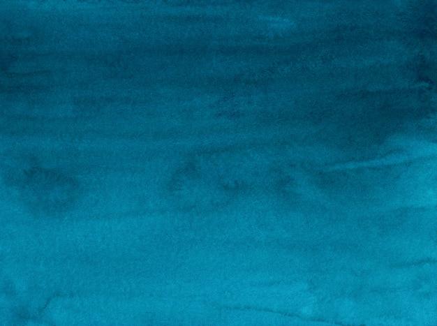 Akwarela tuszem niebieski gradient tło malowanie tekstury