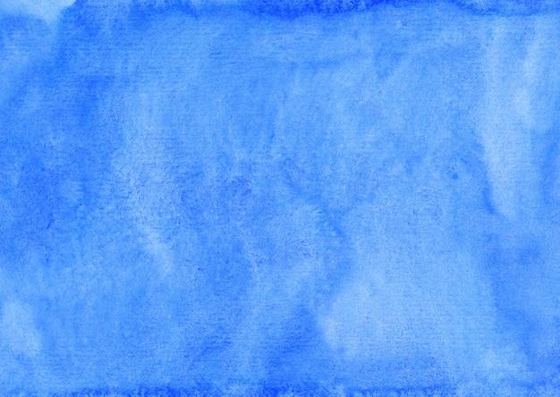 Akwarela wodnisty jasnoniebieski obraz tła