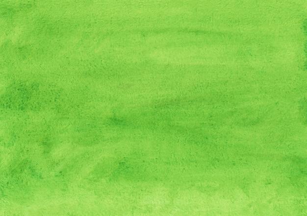 Akwarela zielone tło tekstura. aquarelle zieleń kolor tła. jasna nakładka akwareli.
