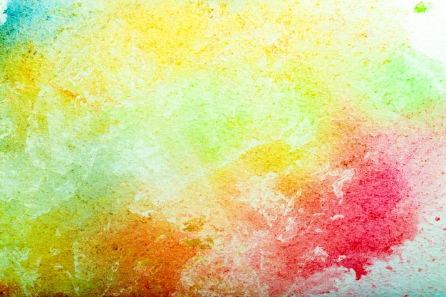 Akwarele tła niebieskie pociągnięcia pędzlem akwarelowej farby na białym papierze wysokiej jakości zdjęcie