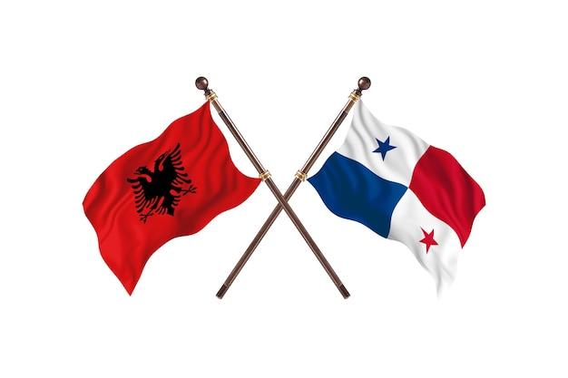Albania kontra panama dwie flagi