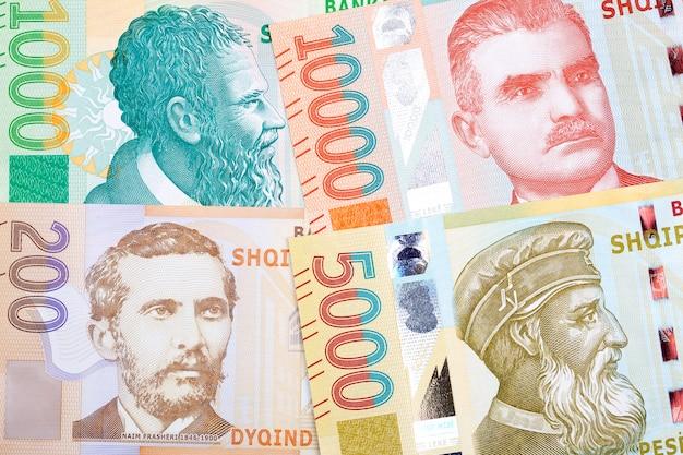 Albańskie pieniądze leke nowa seria banknotów