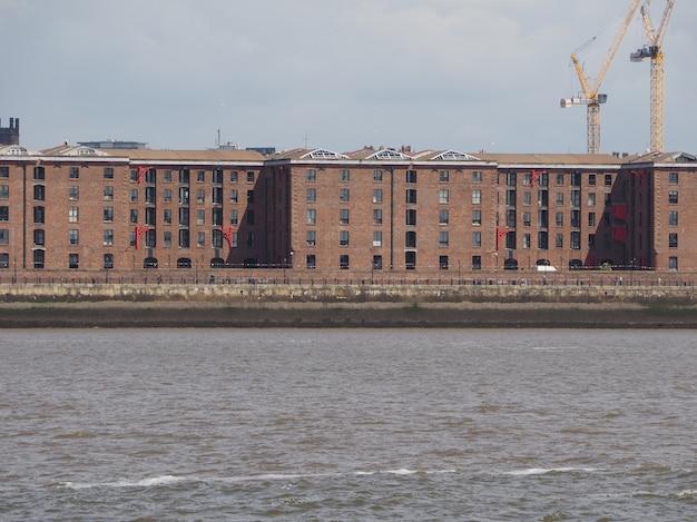 Albert dock w liverpoolu