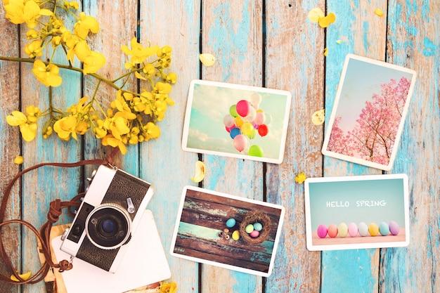 Album fotograficzny wspomnienie wakacji na wiosnę
