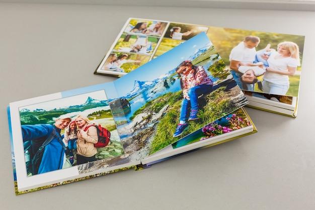 Album ze zdjęciami z podróży i vintage, fotoksiążka