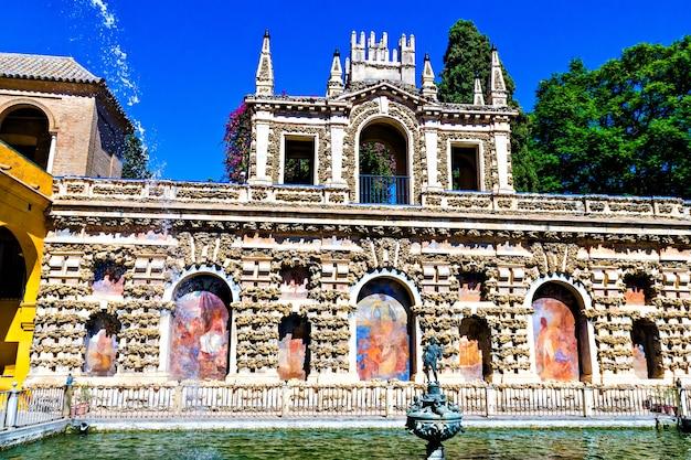 Alcazar w sewilli, andaluzja, hiszpania