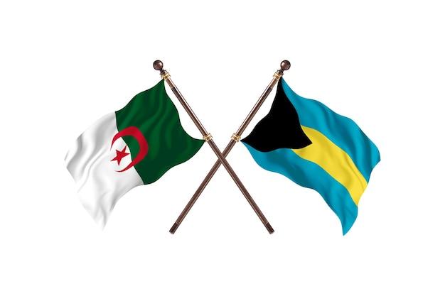 Algieria kontra bahamy dwie flagi