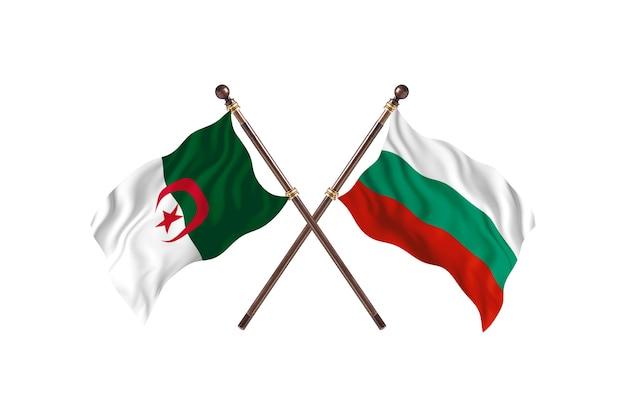 Algieria kontra bułgaria dwie flagi