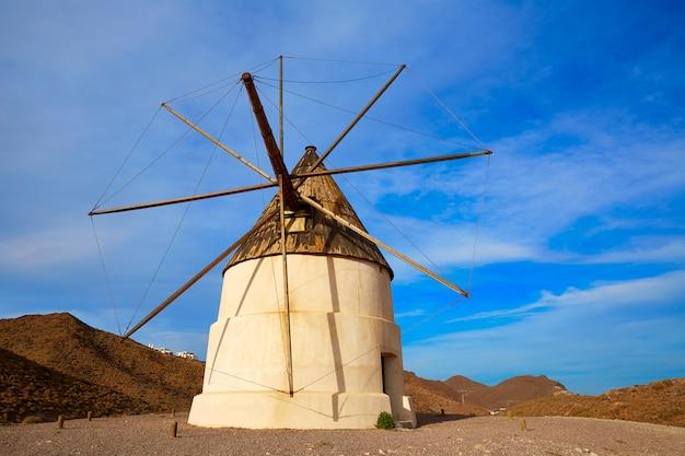 Almeria molino de los genoveses wiatrak hiszpania