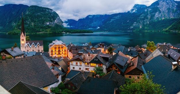 Alpejska wioska hallstatt
