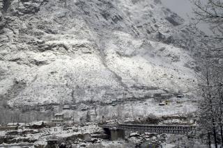 Alpejski widok, góry