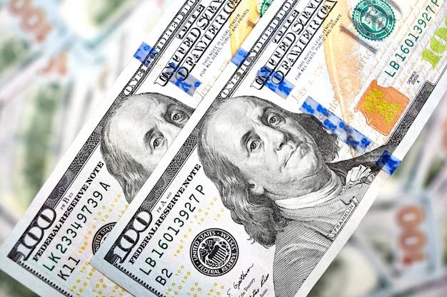 Amerykańskie rachunki po sto dolarów
