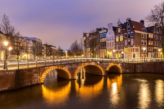 Amsterdam canals holandia