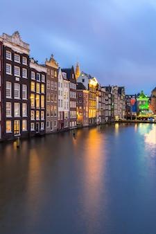 Amsterdamskie kanały holandia