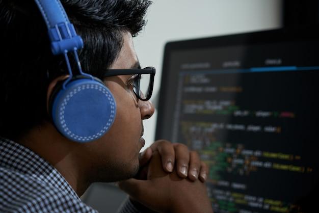Analiza kodu programowania
