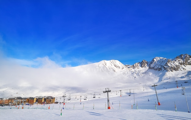 Andorra pas de la casa - ośrodek narciarski grandvalira
