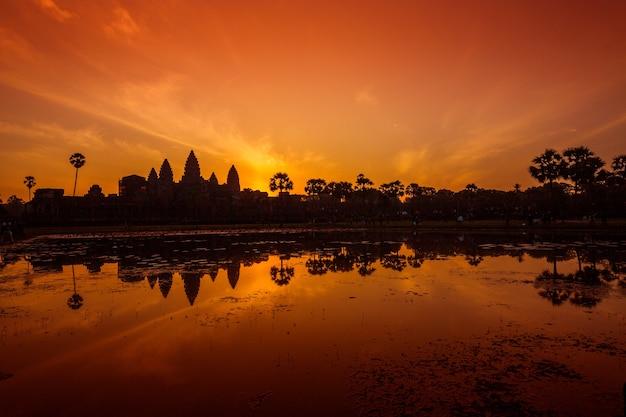 Angkor wat, angkor thom, siem reap, kambodża