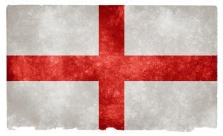 Anglia grunge flag symboliczny