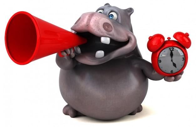 Animacja hipopotama