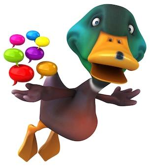 Animacja kaczki