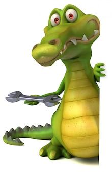 Animacja krokodyla