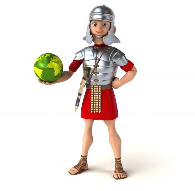 Animacja rzymskiego żołnierza