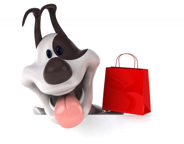 Animacja zabawnego psa