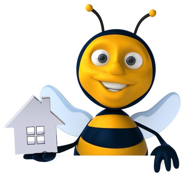 Animacja zabawy pszczół