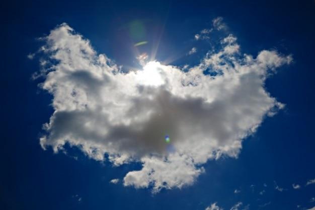 Anioł chmura hdr