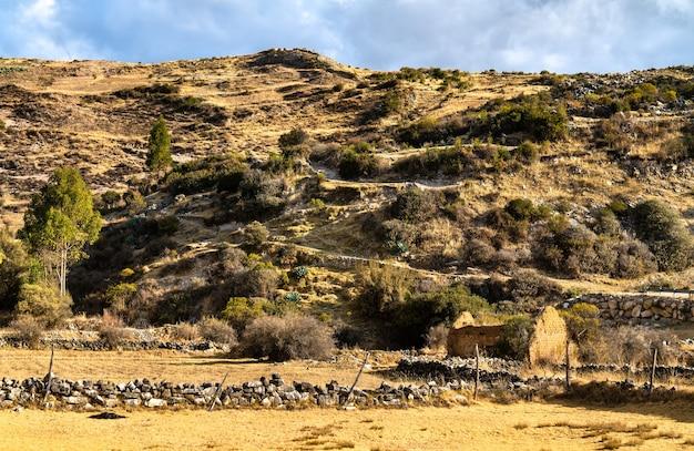 Antacocha typowa peruwiańska wioska w andach