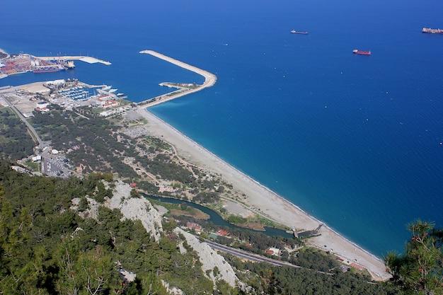 Antalya miasta widok z wierzchu góry
