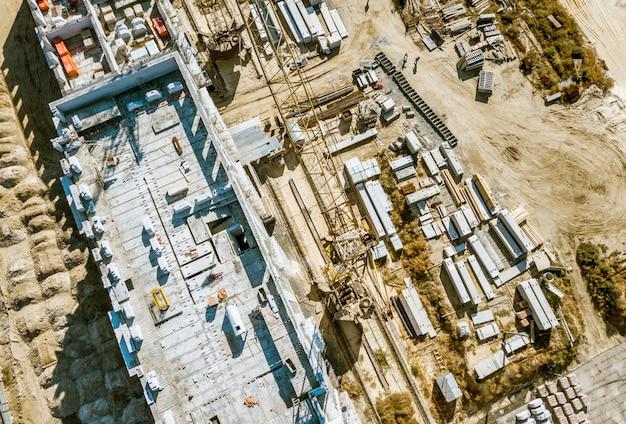 Antena budynku przemysłowego rozwoju architektury koncepcja f