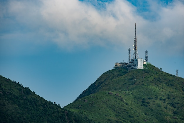 Antena komunikacyjna w hong kong