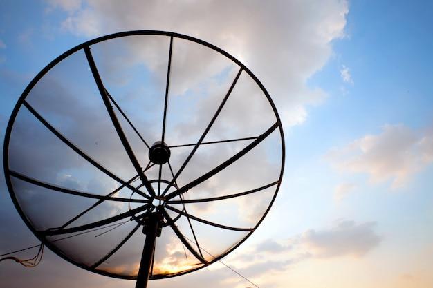 Antena satelitarna telekomunikacyjna