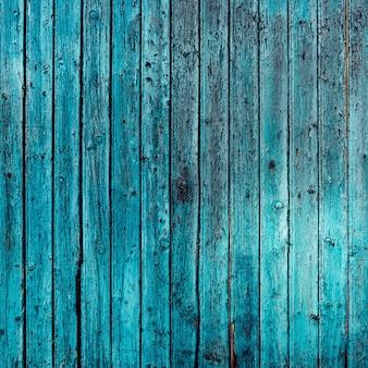 Antyczne drewno w kolorze turkusowym
