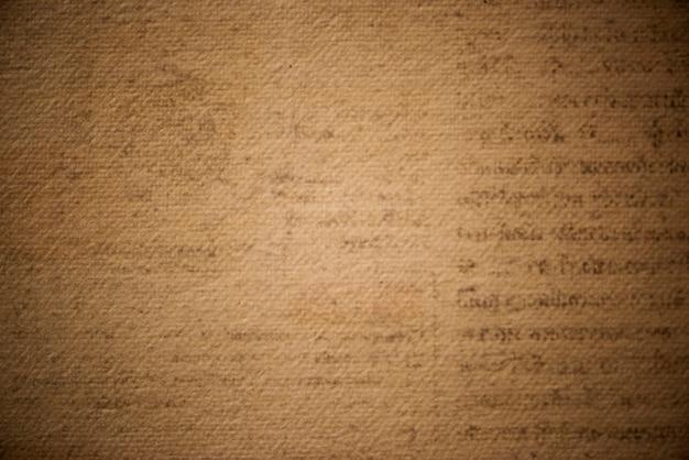 Antyczny brązowy papier z teksturą