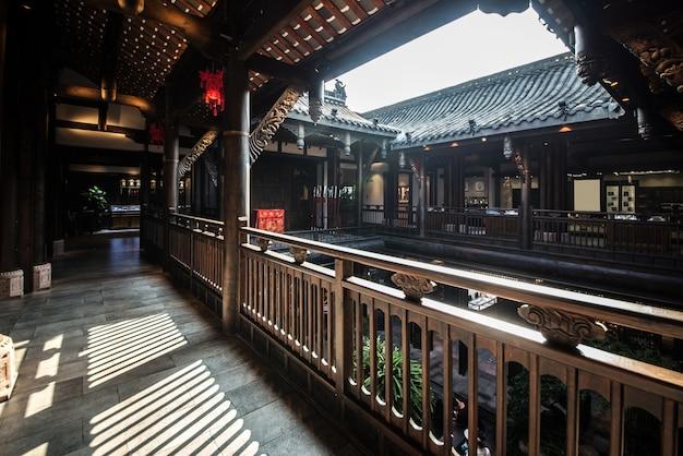 Antyczny grodzki loft w chengdu, chiny